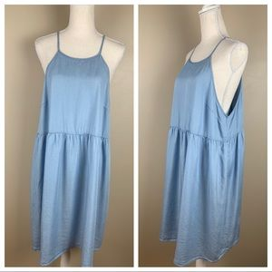 NWOT. Mossimo  denim midi dress. Size XXL.